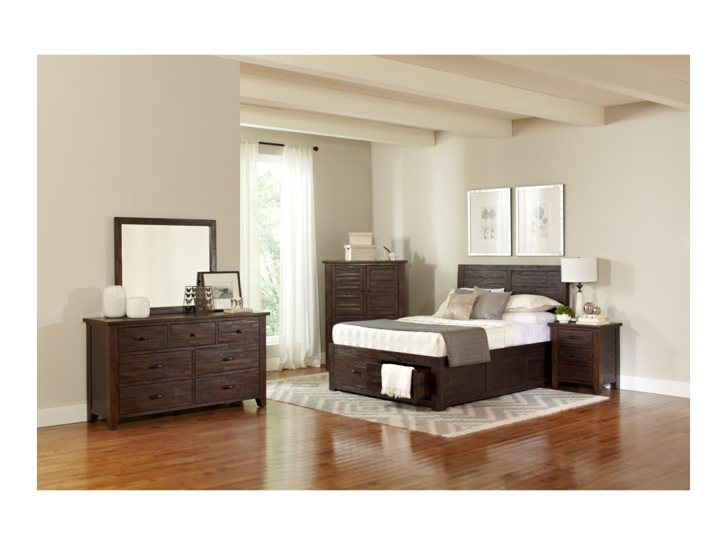 Jofran Jackson LodgeQueen Bedroom Group