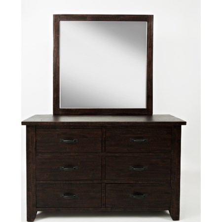 Double Dresser and Studio Mirror