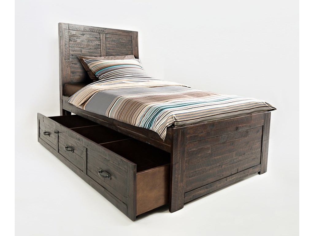 Jofran Jackson LodgeTwin Bed with Trundle