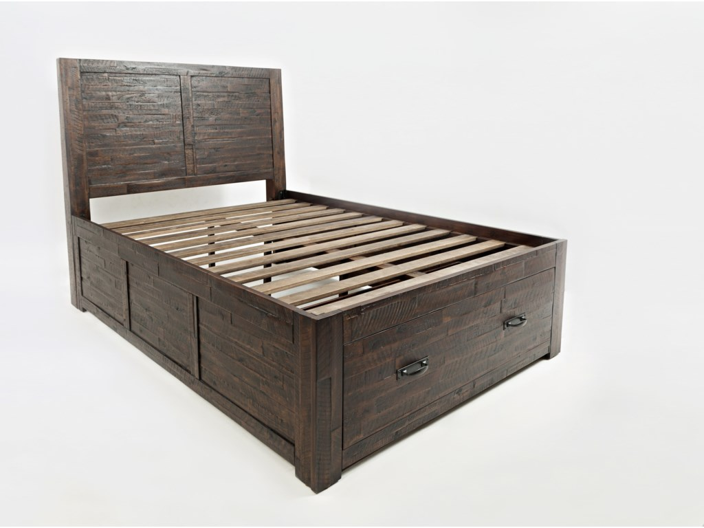 Jofran Jackson LodgeFull Storage Bed