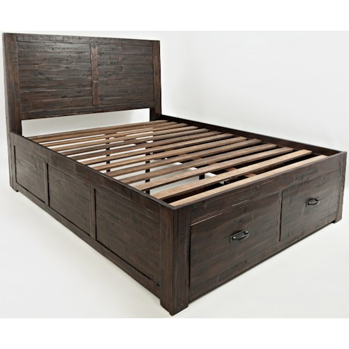 Jofran Jackson Lodge Queen Storage Bed