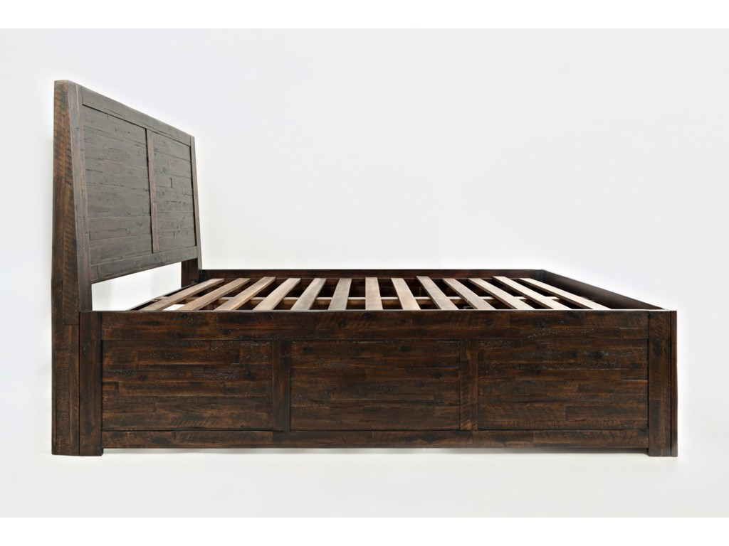 Jofran Jackson LodgeKing Storage Bed