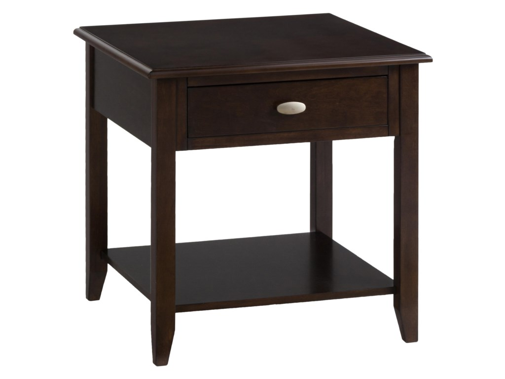 Jofran MerlotEnd Table