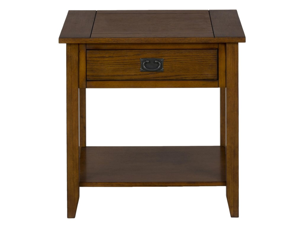 Jofran Mission OakEnd Table