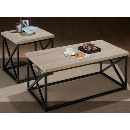 Aldren X Side 3 Pack Table Set