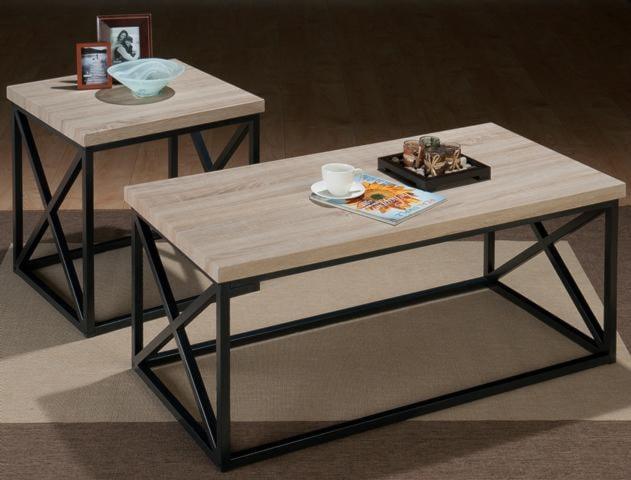 Morris Home Furnishings AldrenX Side 3 Pack Table Set
