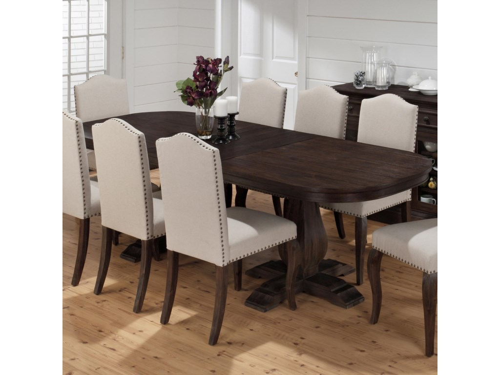 Jofran Grand Terrace Traditional Styled Dining Table With