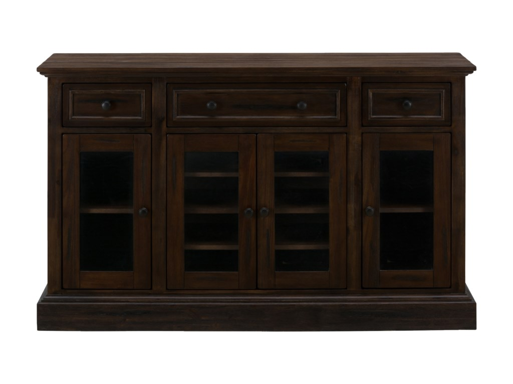 Jofran Grand TerraceServer with Four Doors and Drawers