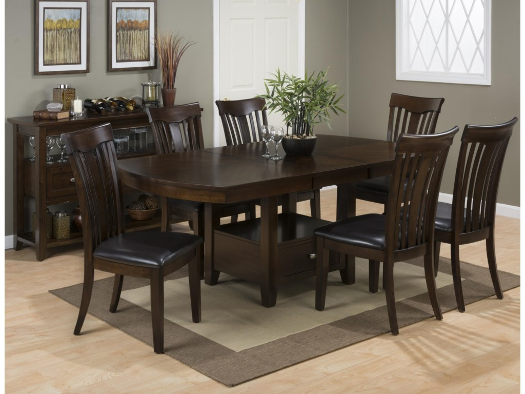 Jofran Mirandela BirchFormal Dining Room Group