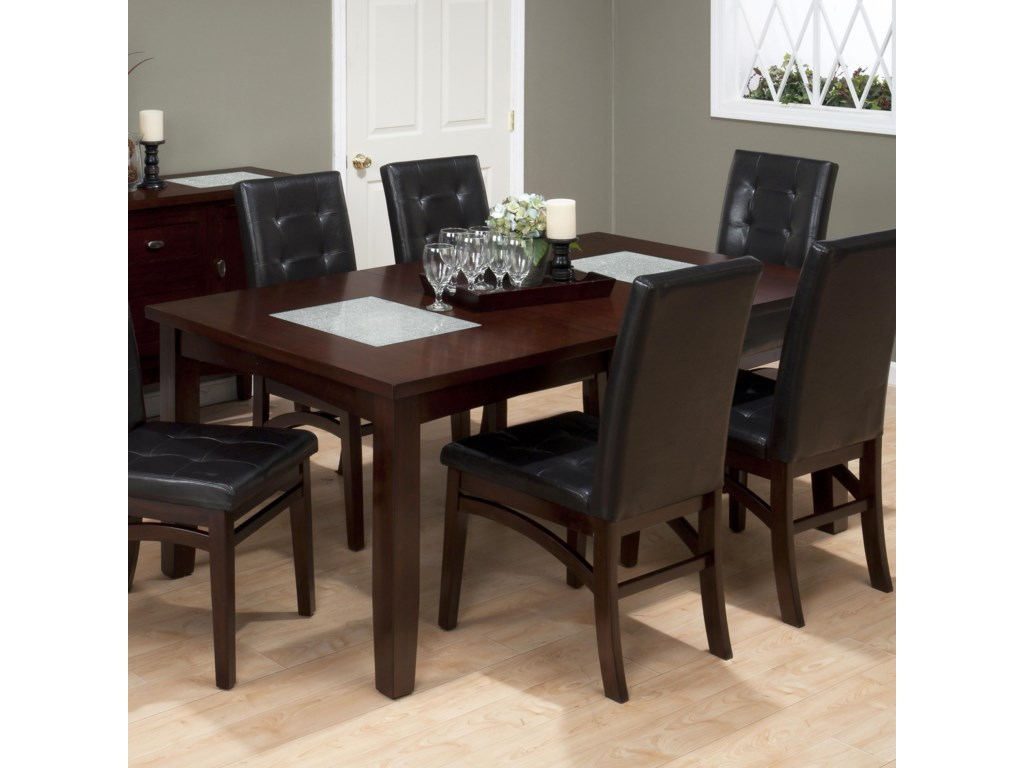 Set Includes Rectangle Extension Table