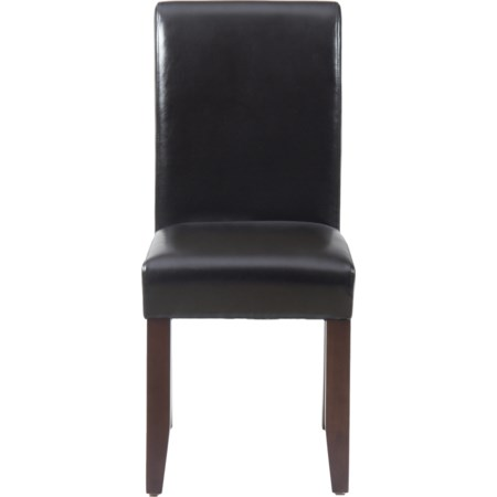 Chestnut Bonded Leather Chair