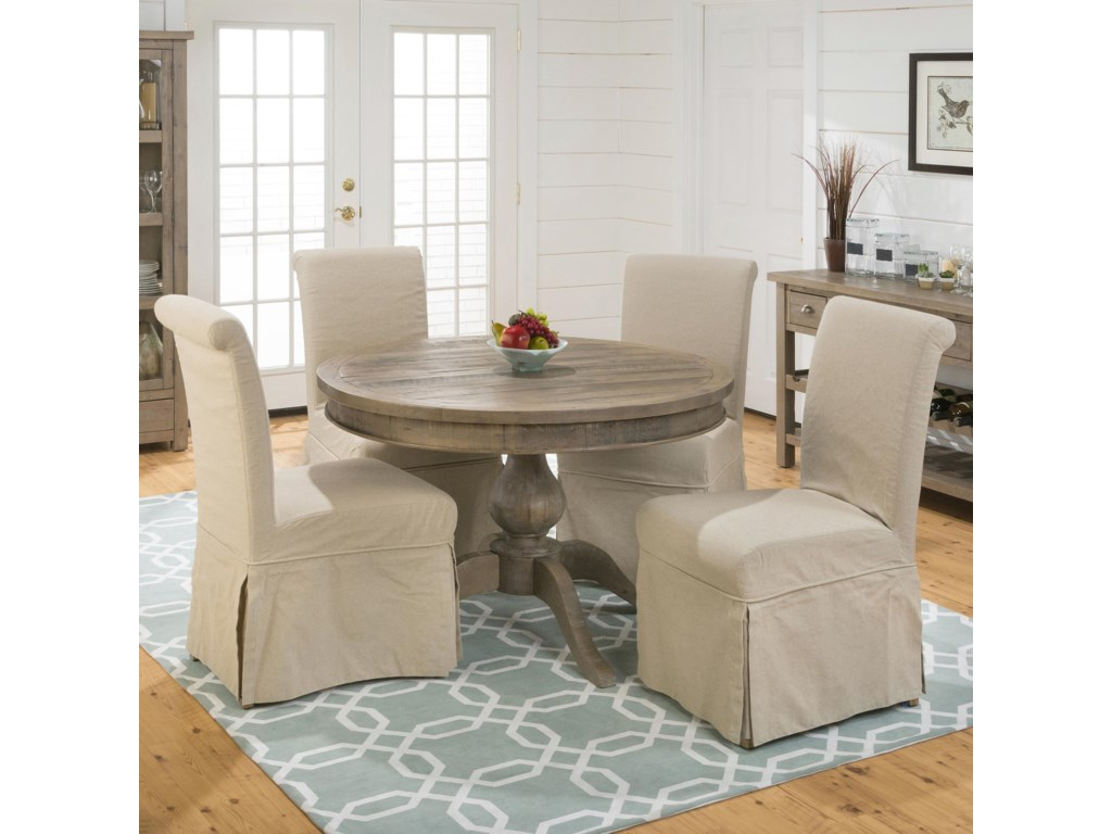 Jofran Slater Mill PineChair and Table Set