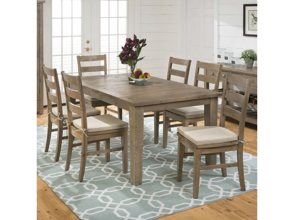 Jofran Slater Mill PineTable and Chair Set