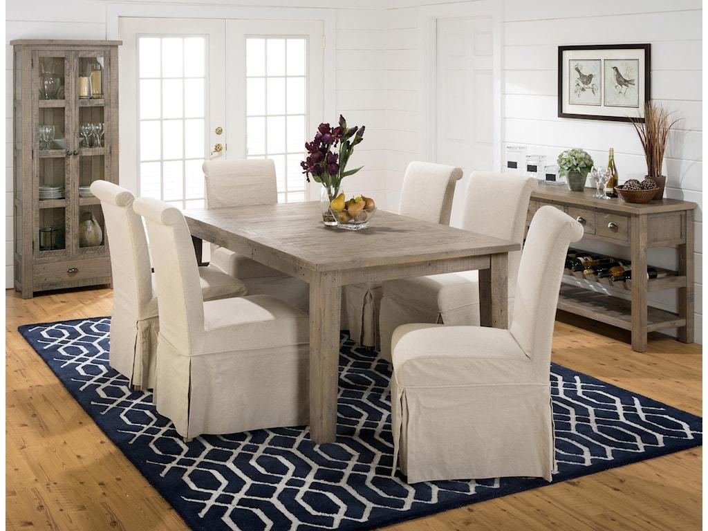 Jofran Slater Mill PineDining Table