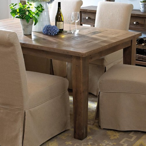Slater Mill Pine Dining Table Made From Reclaimed Pine - Belfort ...