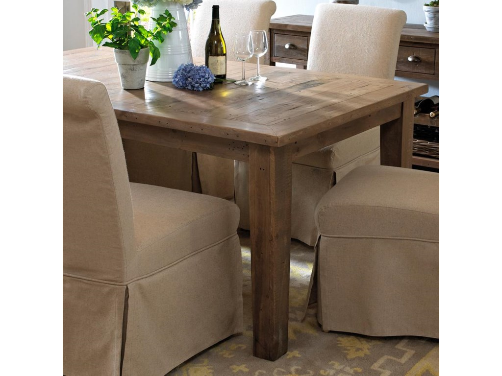 Belfort Essentials Slater Mill Pine Dining Table Made From Reclaimed