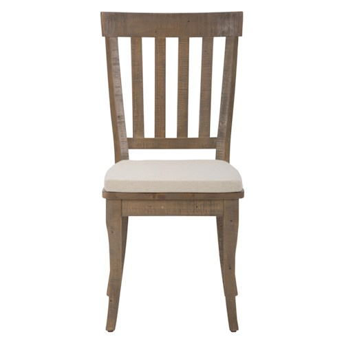 Jofran Bancroft Mills Slatback Side Chair