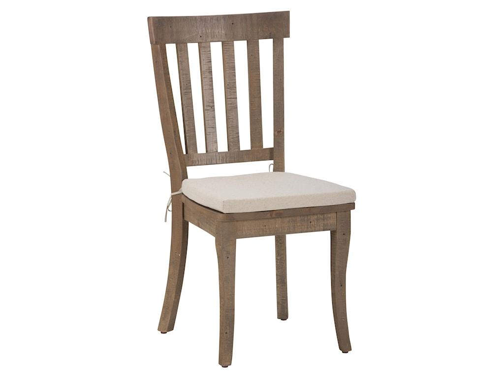 Jofran Slater Mill PineSlatback Side Chair