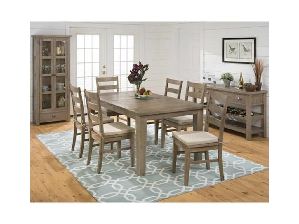 Jofran Slater Mill Pine5 Piece Dining Group