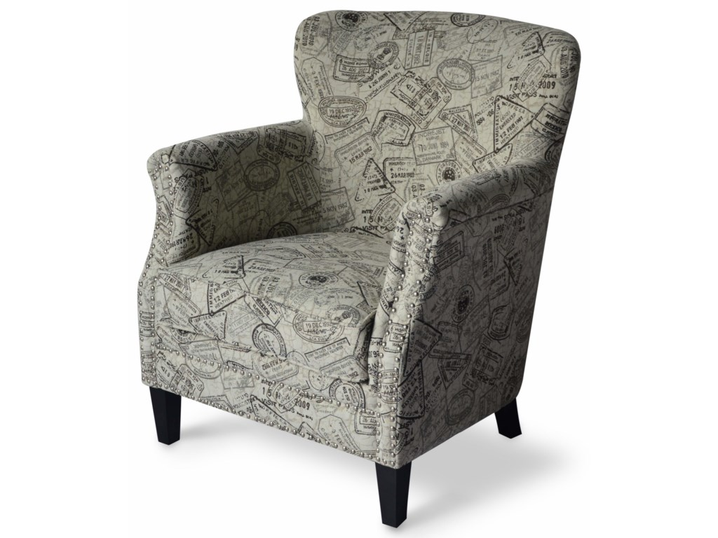 Jofran Accent ChairsGlobetrotter Accent Chair