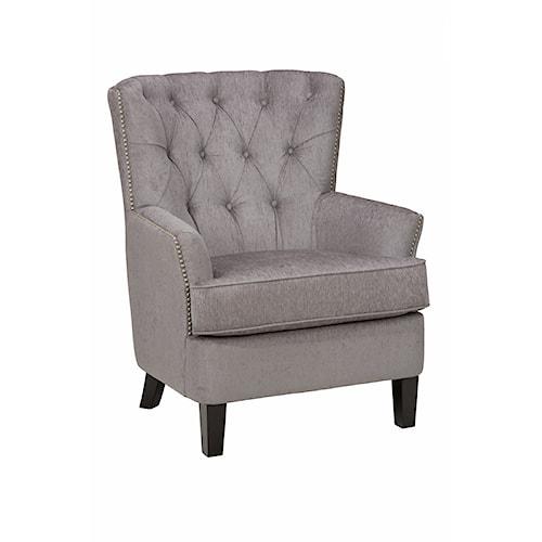 Jofran Accent Chairs Hudson Arm Chair