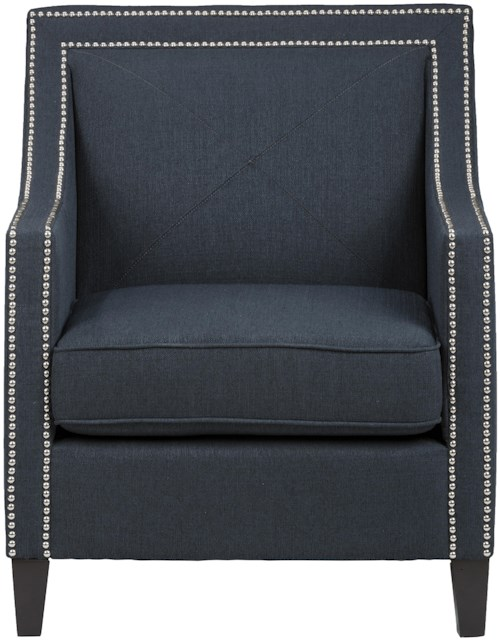 Jofran Easy Living Luca Club Chair with Nail Head Trim