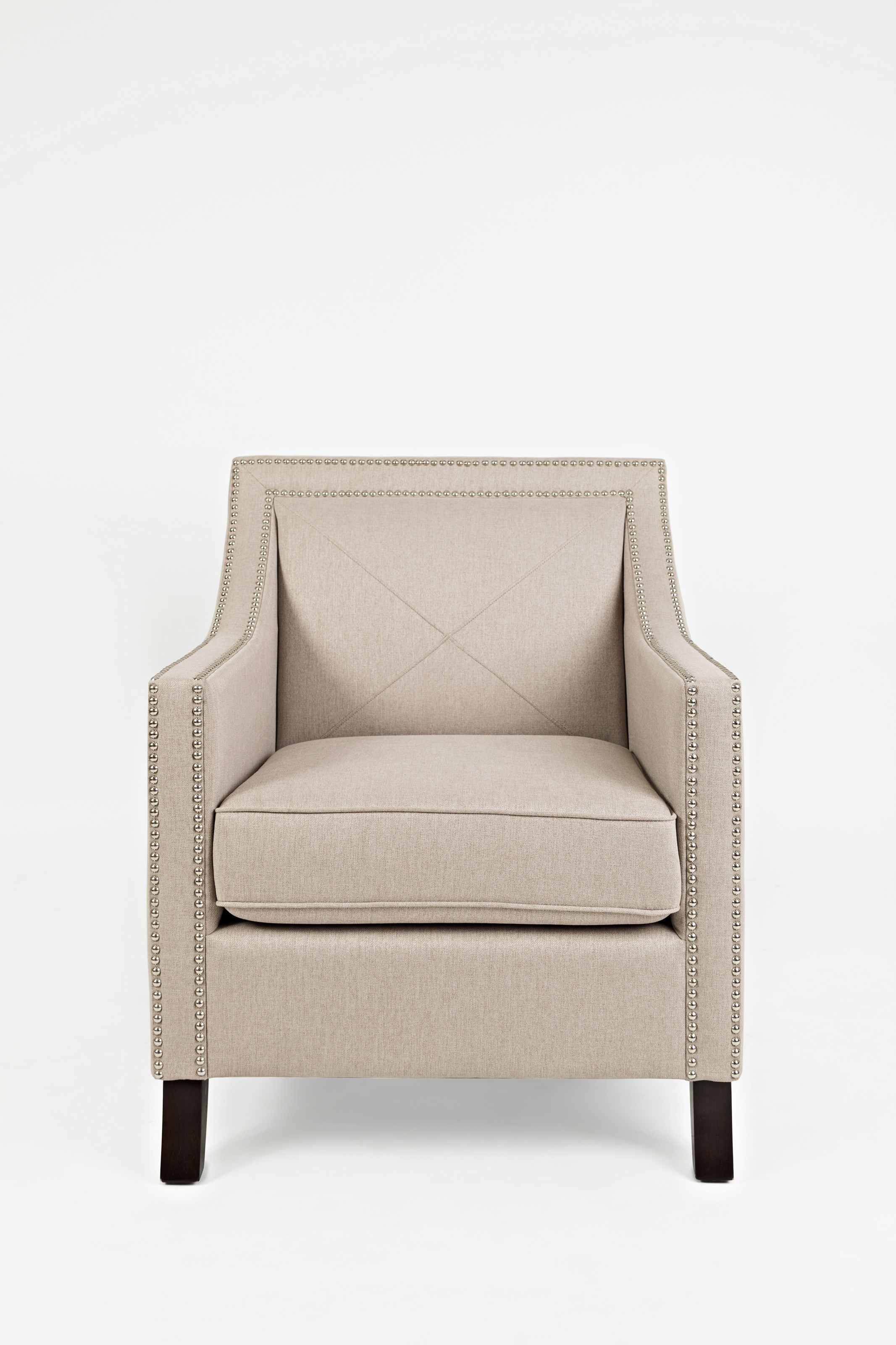 Jofran Easy Living Luca Club Chair With Nail Head Trim