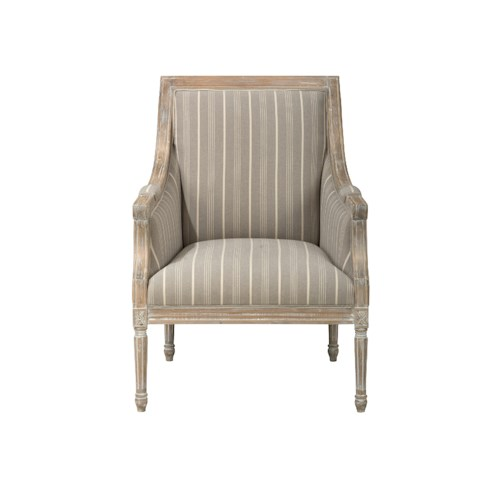 Jofran Accent Chairs McKenna Accent Chair- Taupe