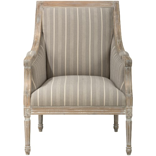 Jofran Easy Living McKenna Accent Chair- Taupe