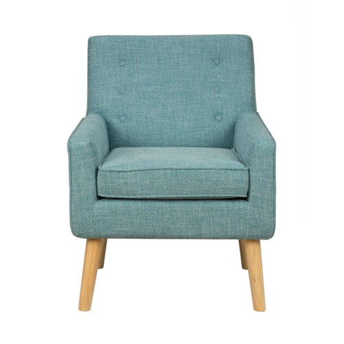 Jofran Accent Chairs Mila Mod Accent Chair