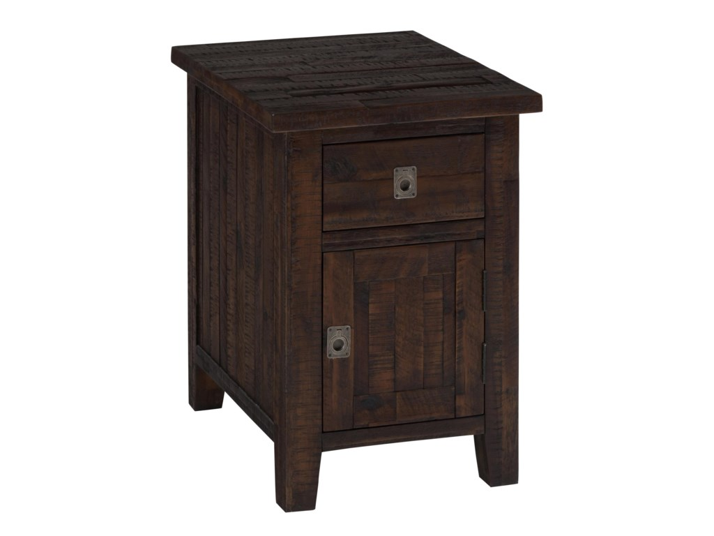 Jofran Kona GroveCabinet Chairside Table