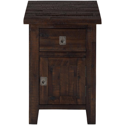 Jofran Kona Grove Cabinet Chairside Table
