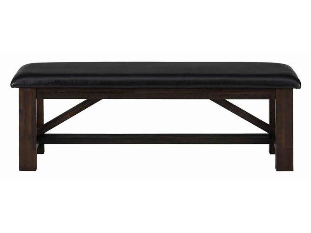 Jofran Kona GroveUpholstered Bench