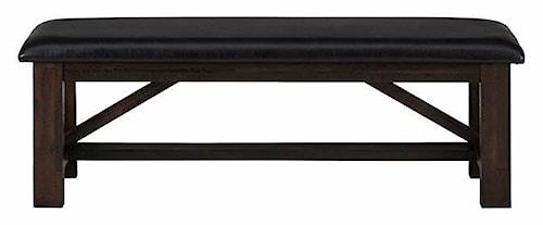 Jofran Kona Grove Upholstered Bench