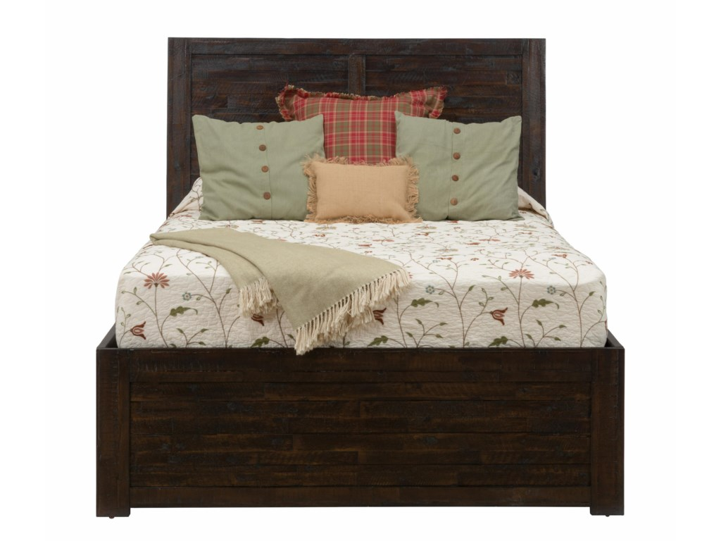 Jofran Kona GroveQueen Storage Bed