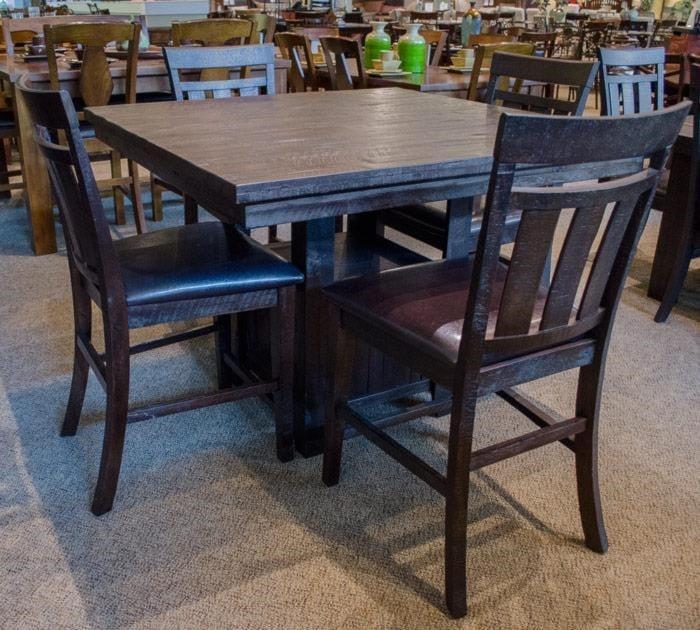 Jofran Kona GrovePub Table & 6 Side Chairs