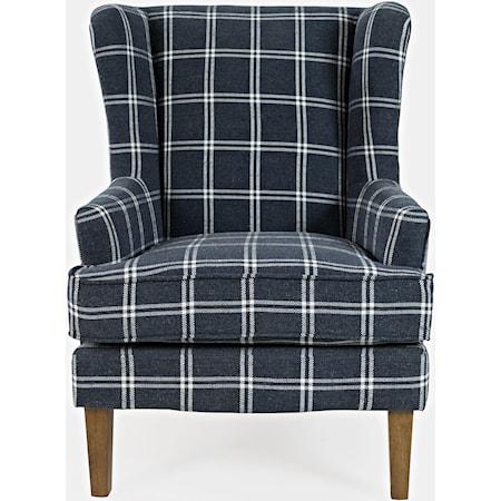 Lacroix Navy Chair