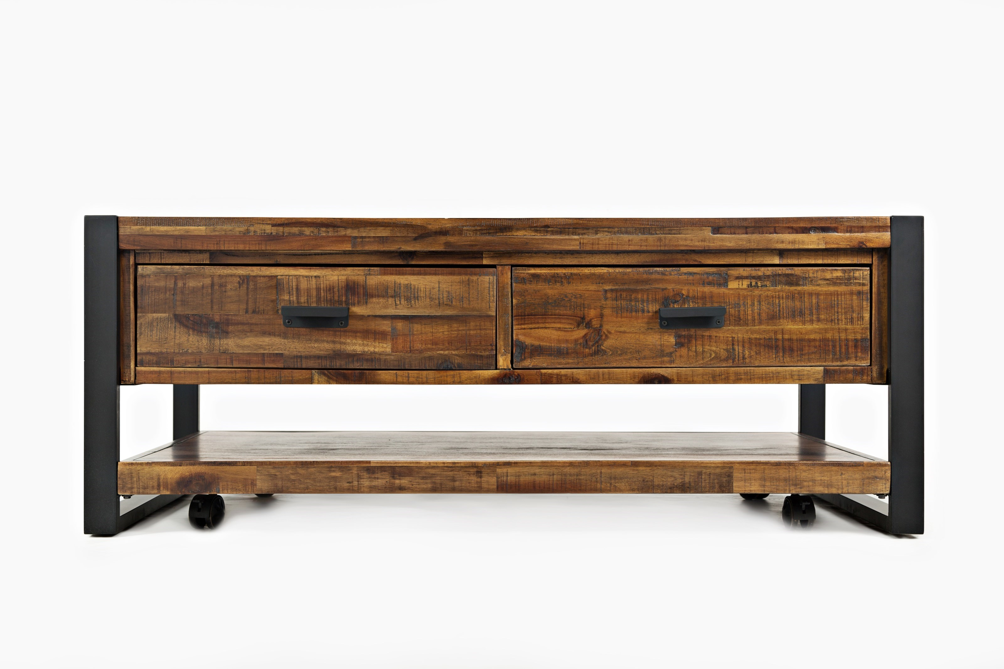 Jofran Loftworks Cocktail Table With Drawers   Darvin Furniture    Cocktail/Coffee Tables