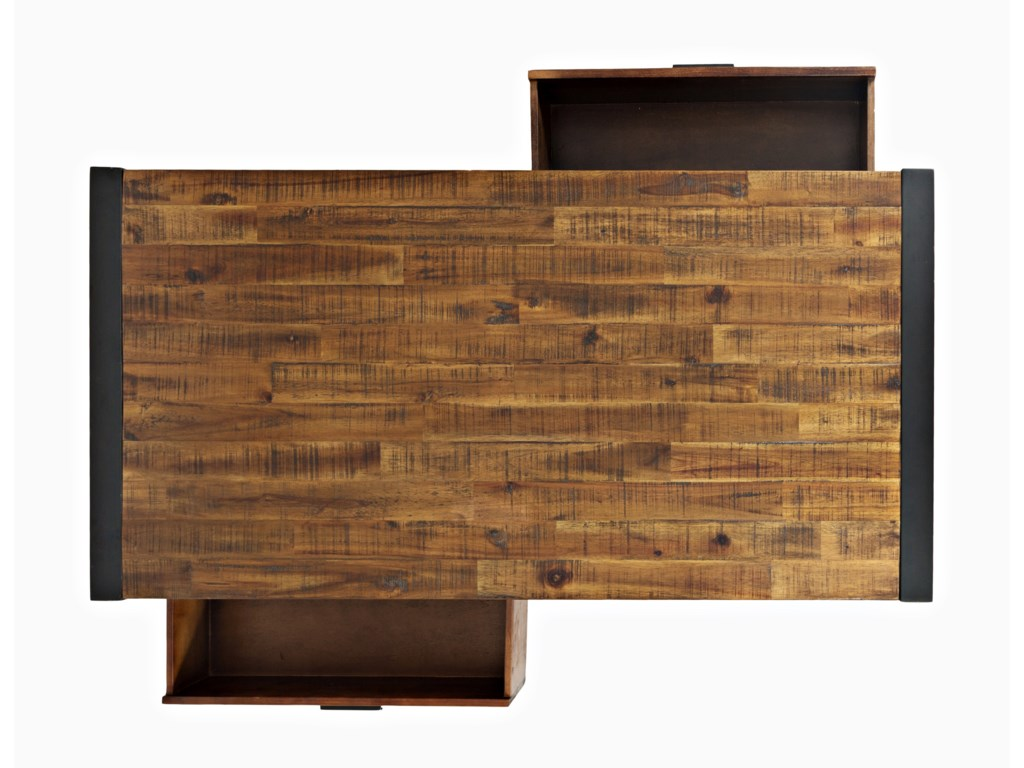 Jofran LoftworksCocktail Table with Drawers