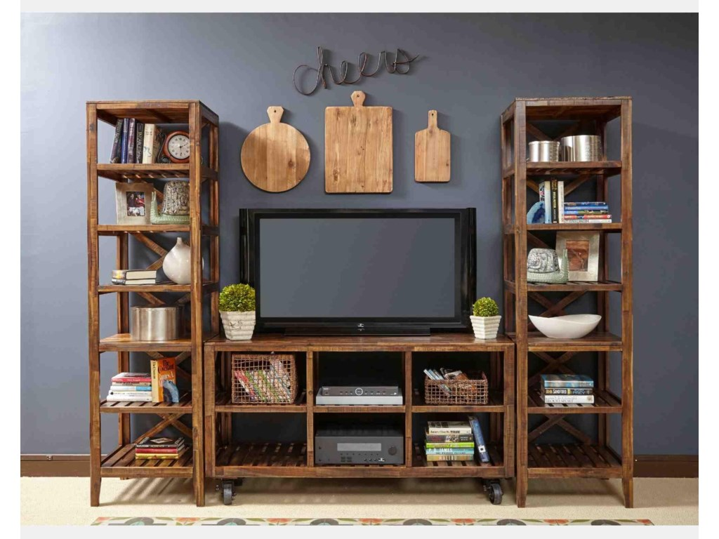 Jofran LoftworksSolid Wood Entertainment Unit