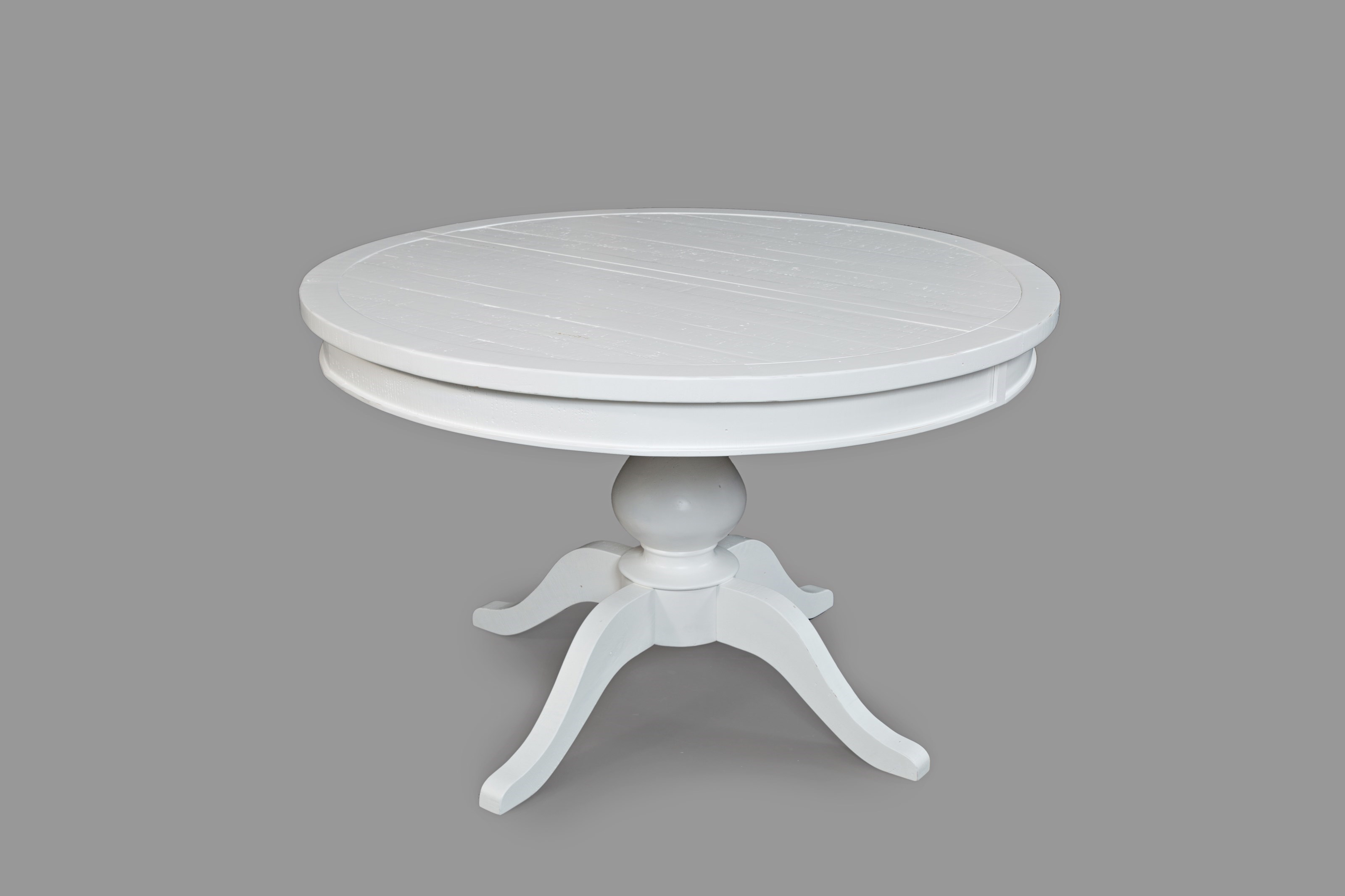 Merveilleux Jofran MadaketRound To Oval   Pedestal Dining Table ...