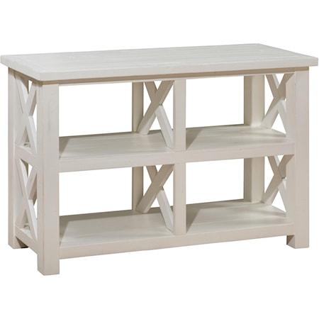 Reclaimed Pine Sofa/Media Table