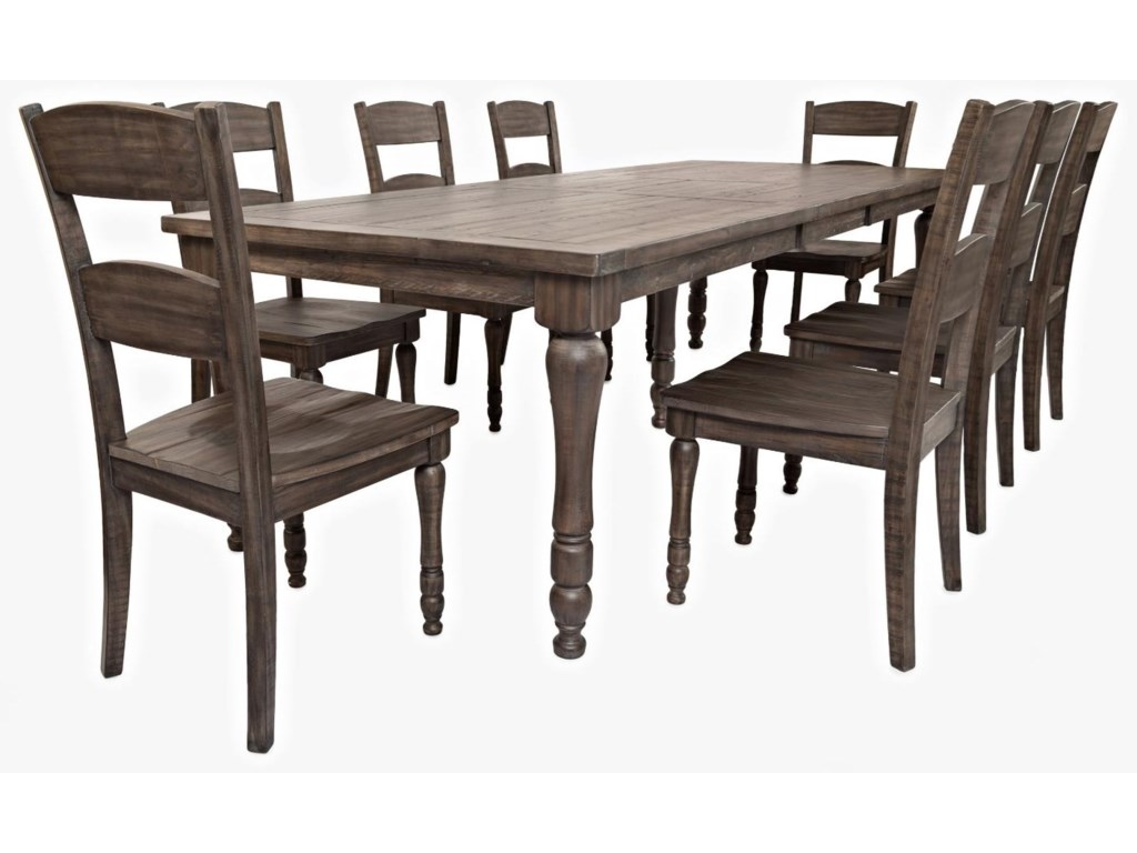 Jofran Madison CountyTable & 8 Chairs