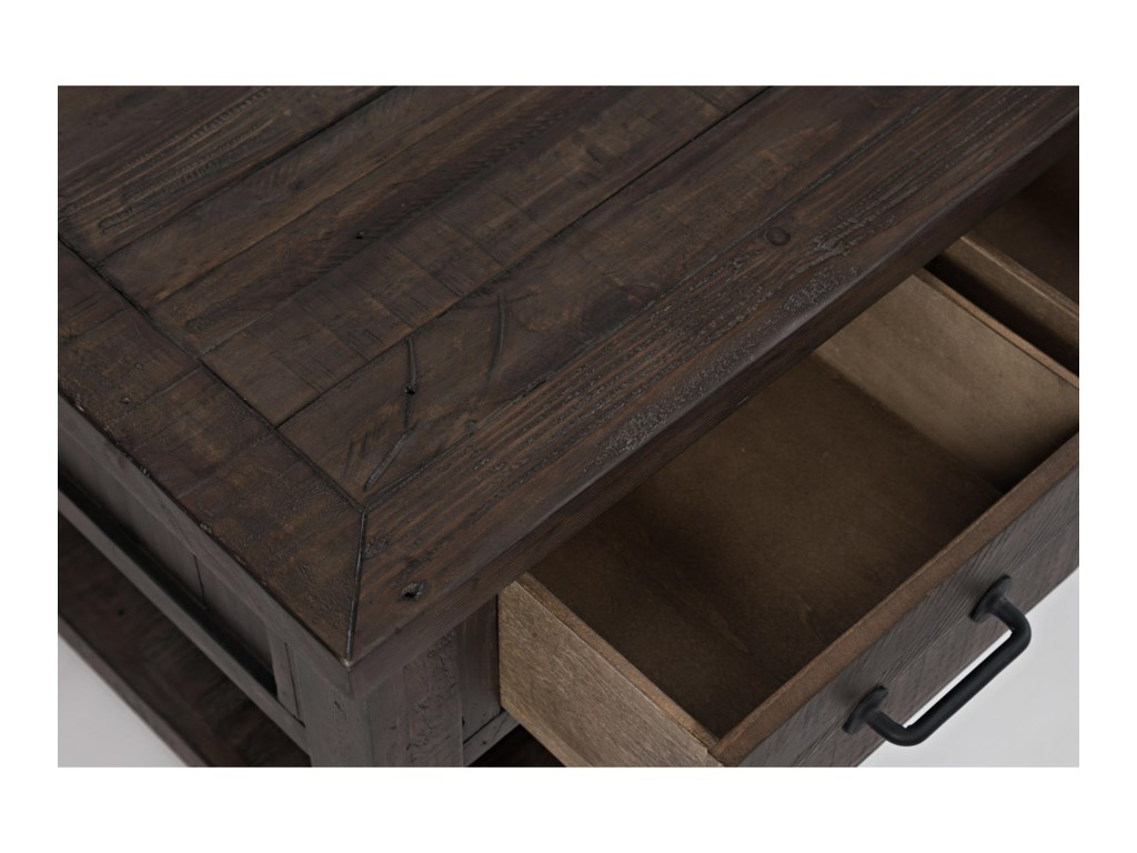 Jofran Madison County3 Drawer Cocktail Table