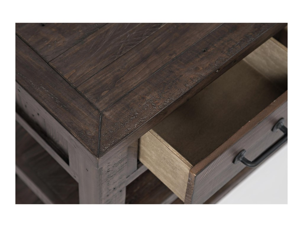 Jofran Madison County3 Drawer Console