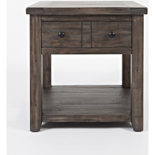 Jofran Madison County End Table
