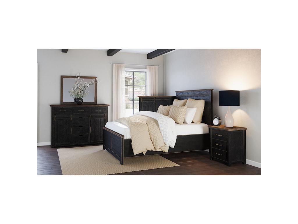 Jofran Madison CountyQueen Bedroom Group
