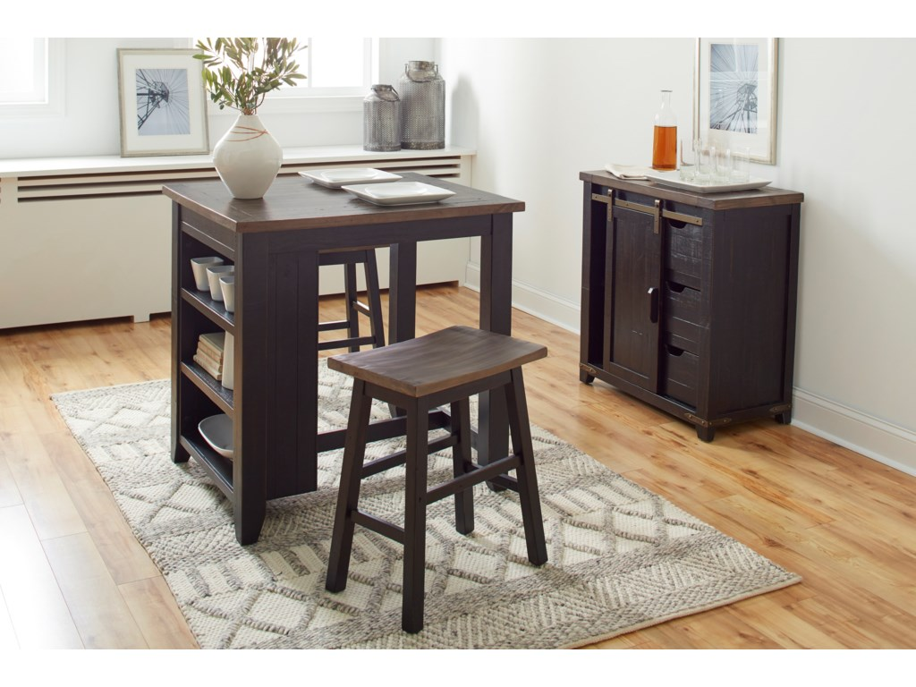Jofran Madison CountyCounter Height Table Set