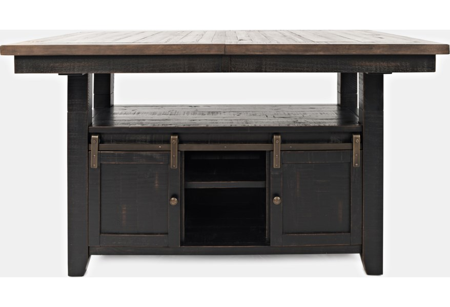 Jofran Madison County 1702-72T/B High/Low Dining Table ...
