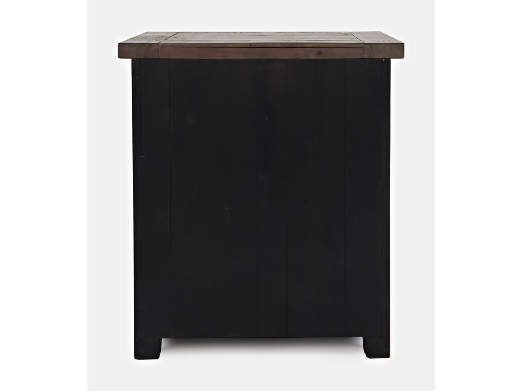 Jofran Madison CountyPower Nightstand